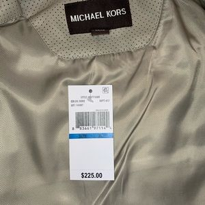 Michael Kors Jackets & Coats - NWT Michael Kors Bessemer Faux Leather